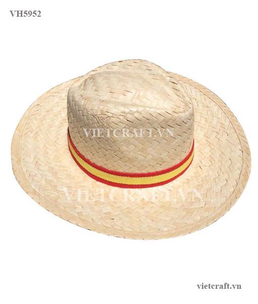 056092f7498 VH5952- palm leaf hat - Vietnam Handicraft Co.